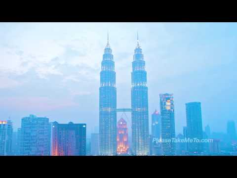 Petronas Twin Towers, Malaysia (1080HD) Travel Video