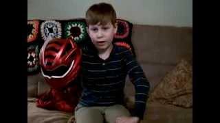 Power Rangers Jungle Fury Helmet Review