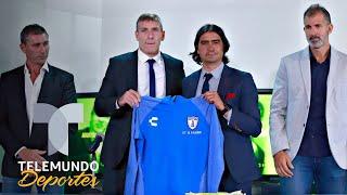 Martín Palermo fue presentado como nuevo director técnico de Pachuca | Telemundo Deportes