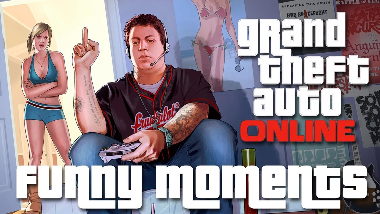 Gta V Online Funny Moments Awesome Thumbnails
