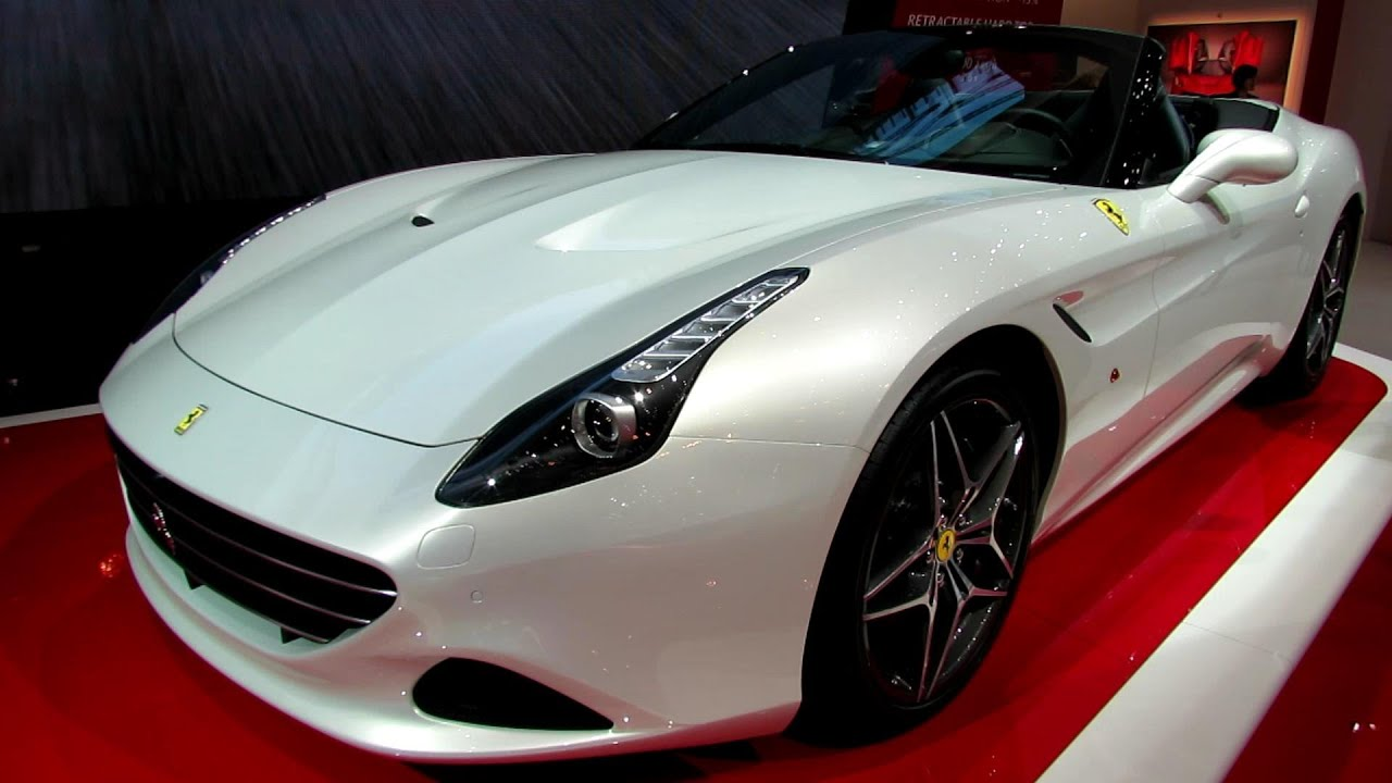 2015 Ferrari California T Spider - Exterior, Interior Walkaround ...