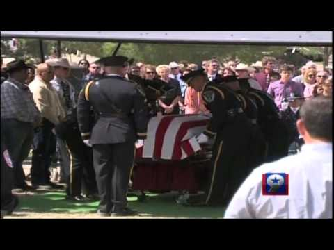 "Graveside Services for Upton County Deputy Billy ""Bubba"" Kennedy"