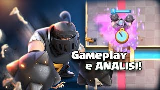 NEW CARD MEGA KNIGHT Clash Royale! COUNTERS and DECKS for the CHALENGE!