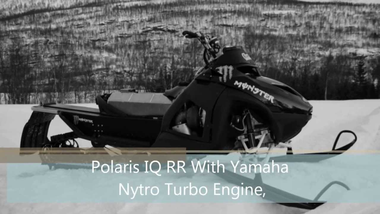 Polaris Iq Rr With Yamaha Nytro Turbo Engine