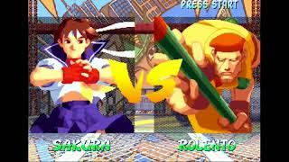 The KO #31 - unlocking secret games in Street Fighter Alpha Anthology