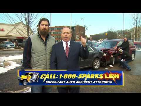 Sparks Law Super Bowl Commercial 2017