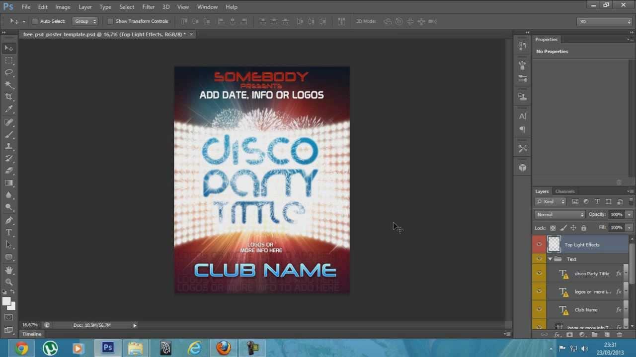 flyer em psd editável download gratis youtube