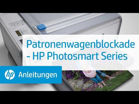Patronenwagenblockade Hp Photosmart Series Youtube