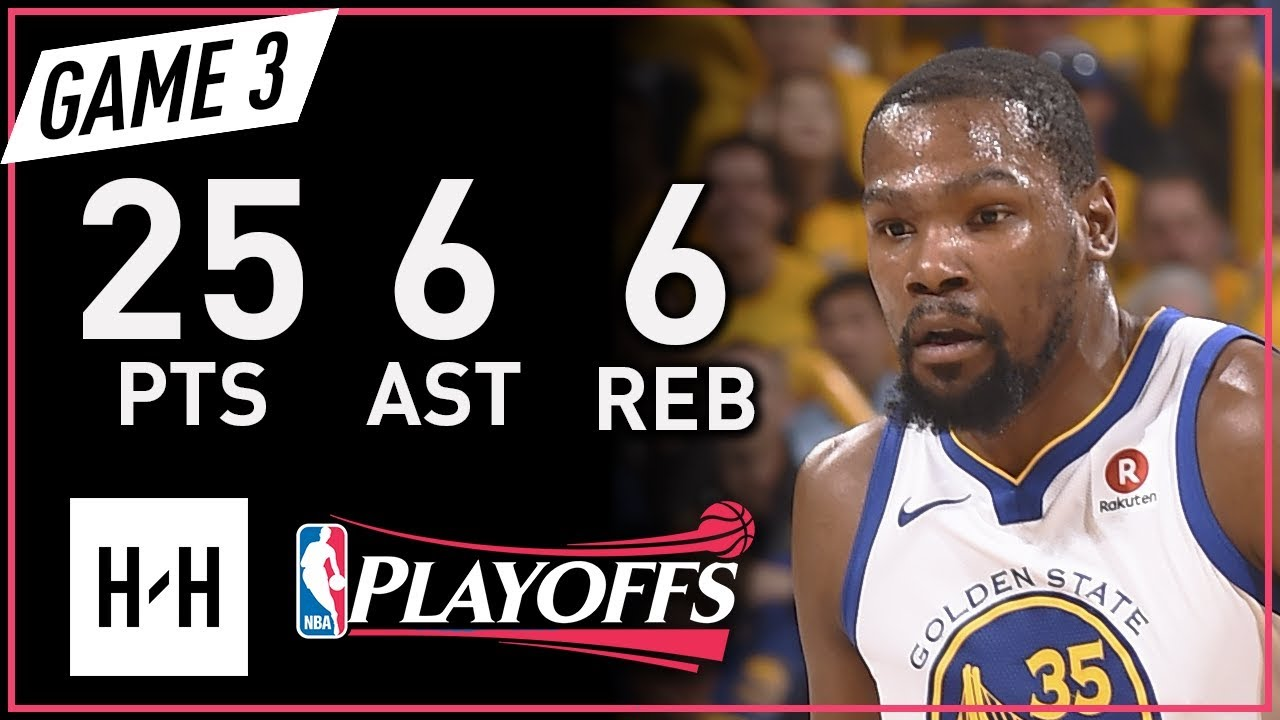 cc948d162cd Kevin Durant Full Game 3 Highlights vs Rockets 2018 NBA Playoffs WCF - 25  Pts
