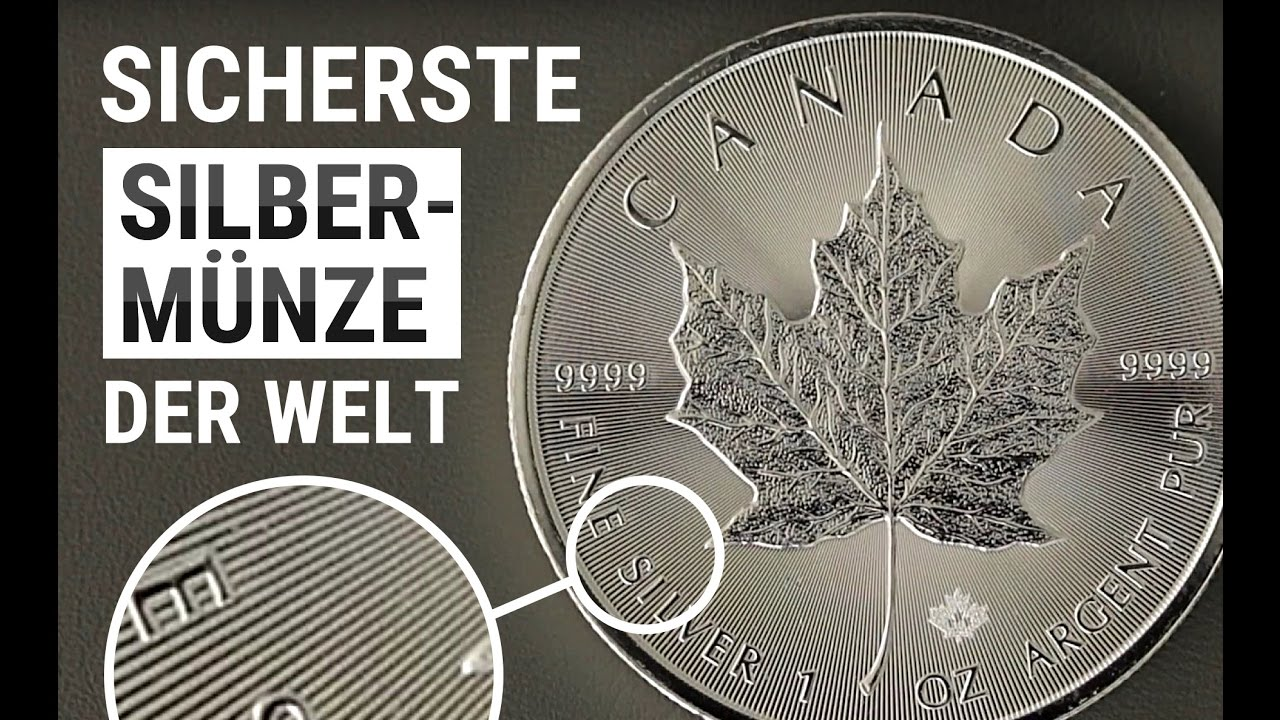 Maple Leaf Die Bekannteste Silbermünze Der Welt 1 Unze Silber