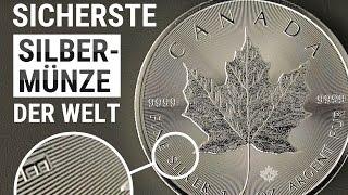 MAPLE LEAF - Die bekannteste SILBERMÜNZE der Welt - 1 Unze Silber [ANLAGE]