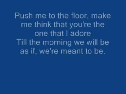 Parlotones - Push Me To The Floor Lyrics
