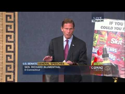 Senator Richard Blumenthal   Section 3 General Speeches   FDA Regulations