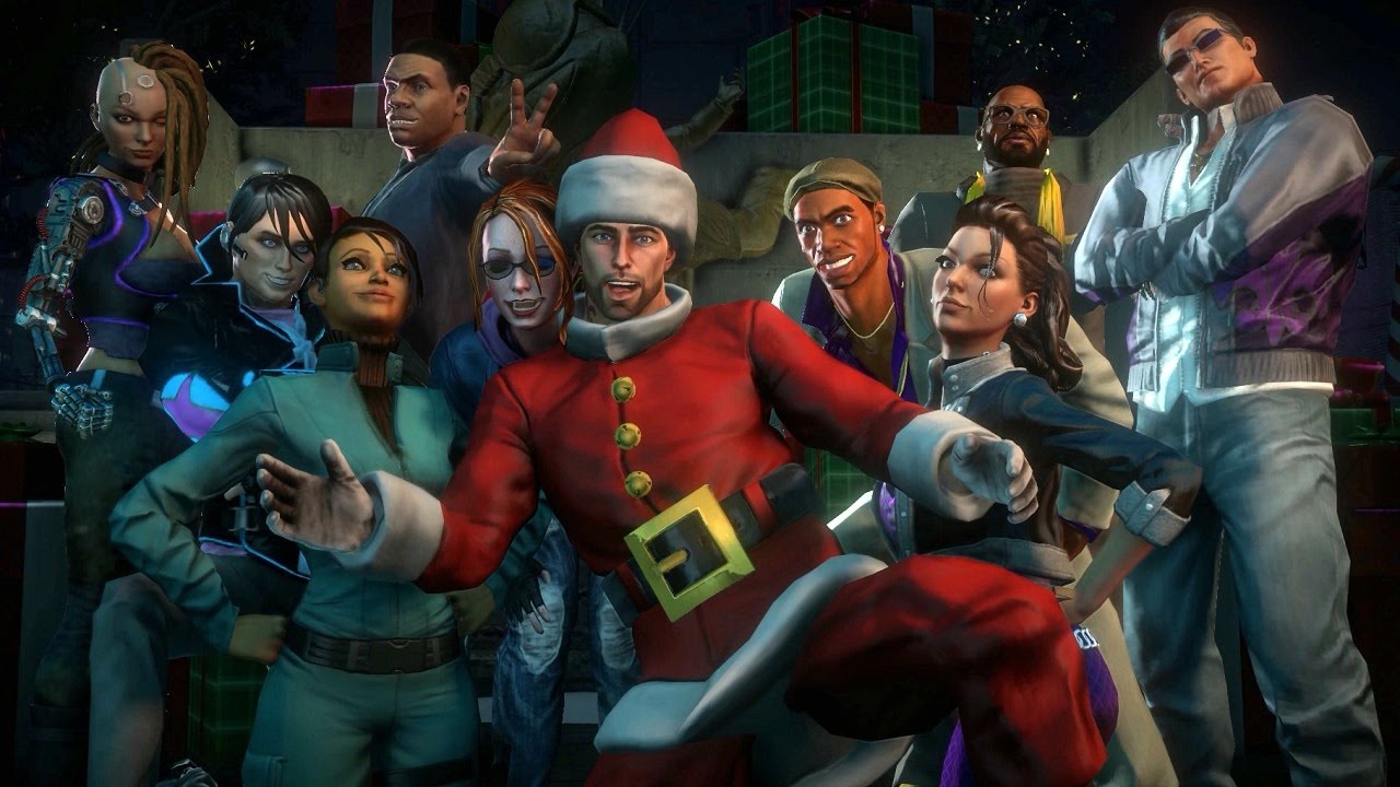 Saints Row IV - How the Saints Save Christmas - ENDING - The Santa ...