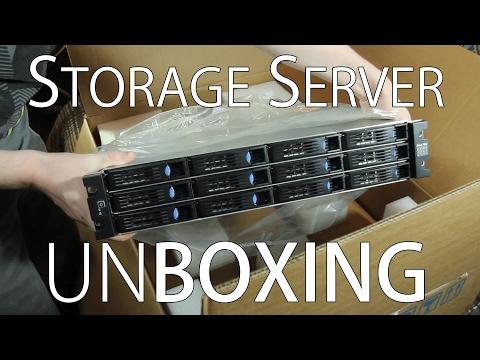 Unboxing New Storage Server - Build Log Part 0