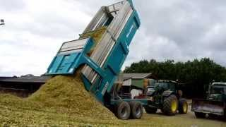 Ensilage de maïs 2015 avec bennes ROLLAND ROLLSPEED