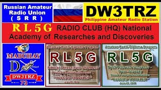 Russian National Academy of Researches & Discoveries | Ham Radio Operating Diploma for DW3TRZ