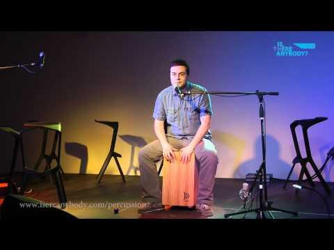 Présentation du Cajón : démarrage de cours online - Percussion & Liturgie