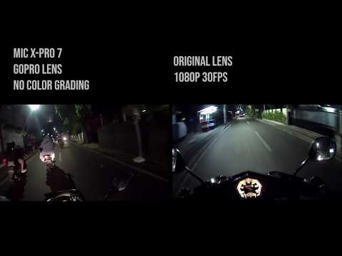Review X-PRO 7 Action Cam With GoPro Lens | Sekalian Gabut & Perkenalan | Nightride Motovlog 1