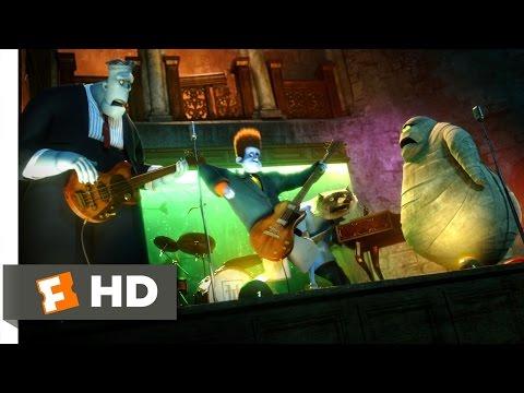 Hotel Transylvania (2012) - Johnnystein Scene (4/10) | Movieclips
