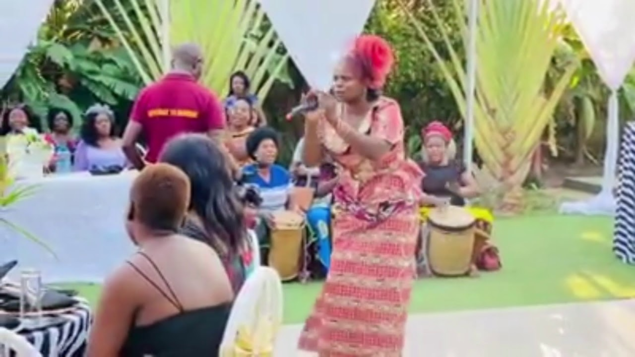 Download Zambian kitchen party one Matron (culture dance)