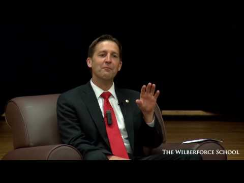 Professor George interview with Senator Ben Sasse