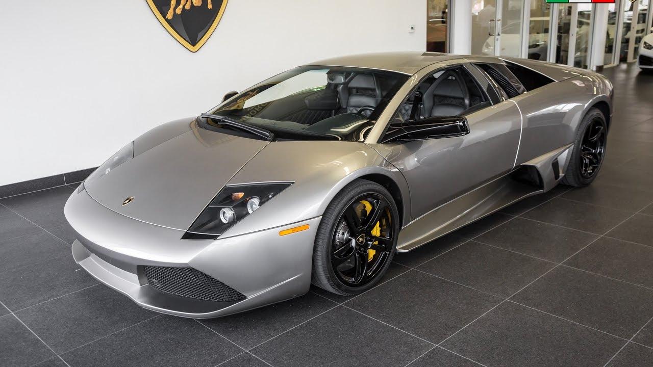 2007 Quot Grigio Antares Quot Lamborghini Murcielago Lp640 Coupe Youtube