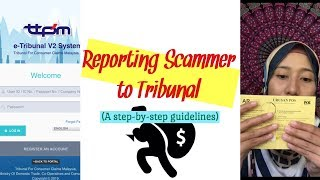 Reporting Scammers To Tribunal: A Step-by-step Guidelines   Simply Safwanah (#5)