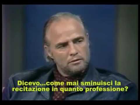Marlon Brando interview about acting [sub ita]