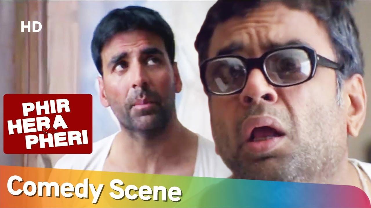 राजू चला बाबुराव की किडनी बेचने | Phir Hera Pheri Superhit Comedy Movie Scenes