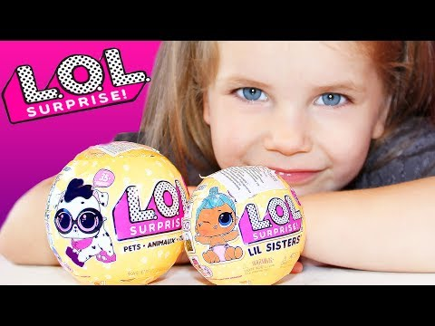 LOL Surprise GOLDEN Ball Series 3 Wave 2 Confetti pop Pets Lil Sisters POPSY TOYS