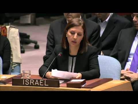 Statement by Israel's Minister for Social Equality on Women, Peace and Security