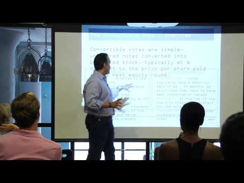 Convertible Notes Explained by Charles Torres