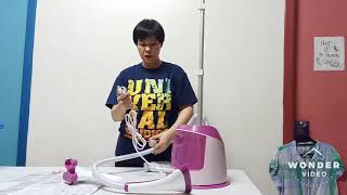 Unboxing and Demo Philips GC514 Garment Steamer