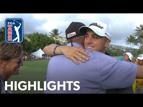 Justin Thomas' Winning Highlights From The 2017 Sony Open In Hawaii