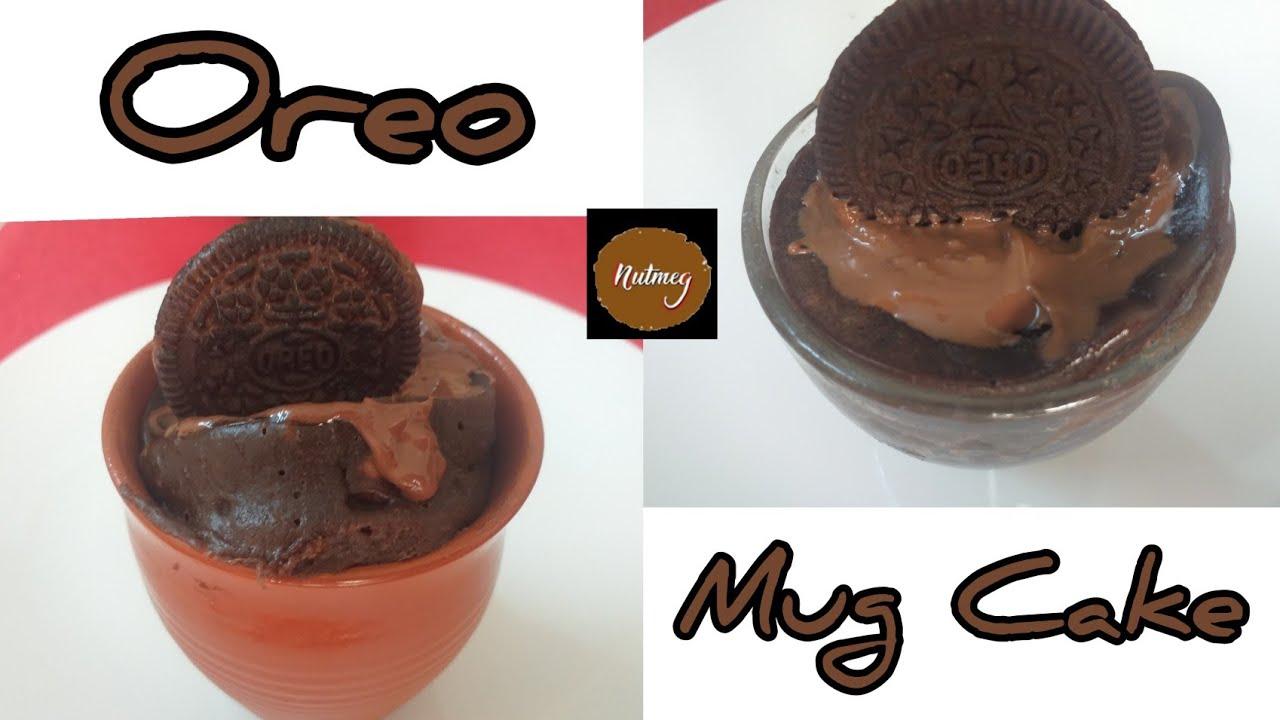 Oreo Mug Cake | Father's Day Special | Microwave Mug Cake ...