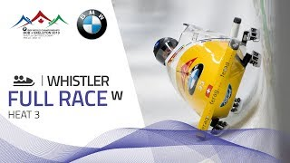 Whistler | BMW IBSF World Championships 2019 - Women's Bobsleigh Heat 3 | IBSF Official