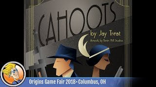 Cahoots — game preview at Origins 2018