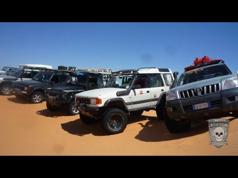 """Off Road S.P.Q.R.""""in"""" 4X4 Sahara Raid Tunisia 2014"""