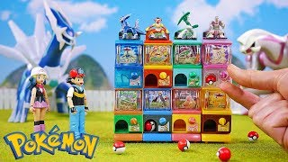 Pokemon Mini Vending Machine Surprise Toys DP
