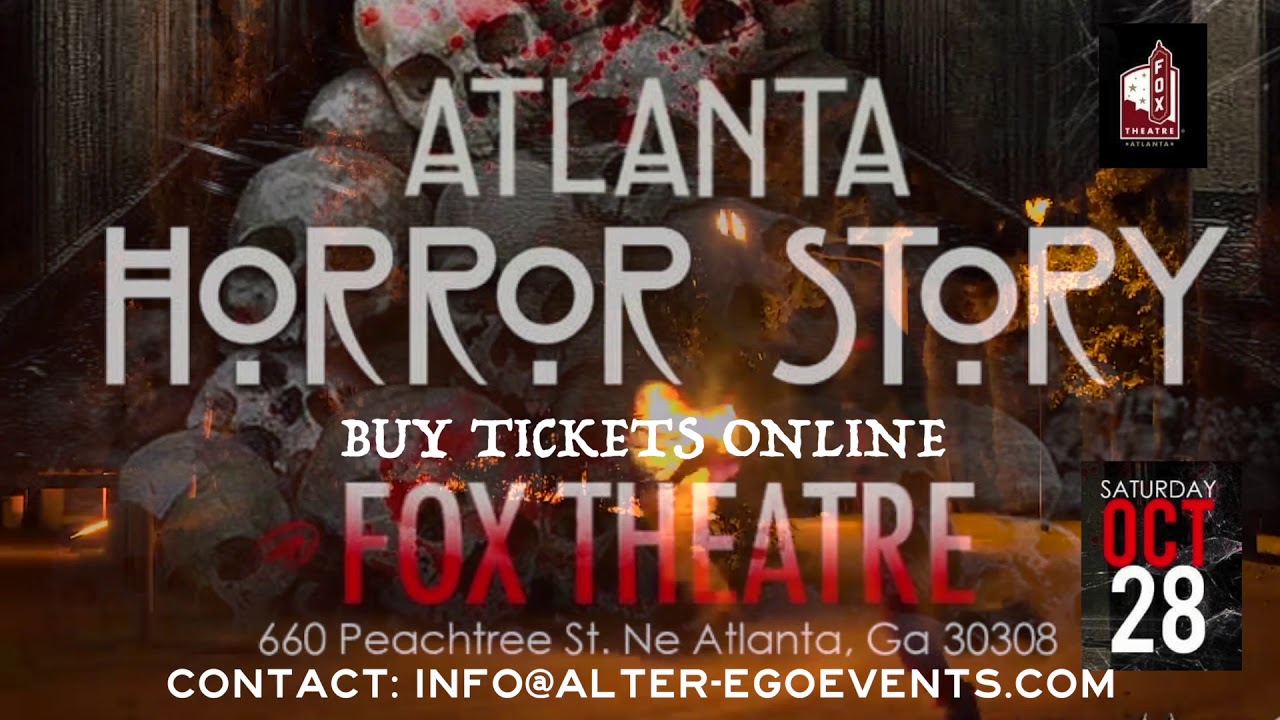 ATLANTA HORROR STORIES | Halloween Party Oct 28th 2017 | THE ...