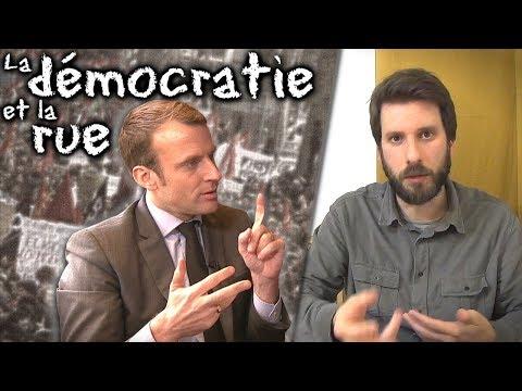 """""""La démocratie n'est pas dans la rue"""" - 4 arguments contre Macron"""