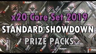How is This Possible?! MTG 20 Core Set 2019 Standard Showdown Packs