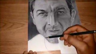 israel lima desenhando- Drawing Ricardo darin