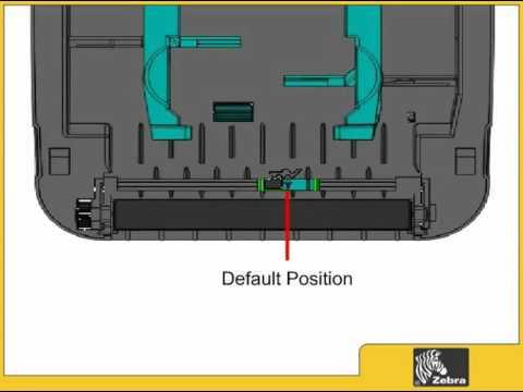 How To: Loading Media in the Zebra GK420D