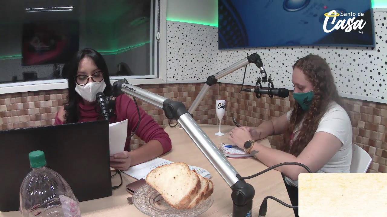 😇 Santo de Casa 😇 Rádio Fraternidade 97,9 FM (21/06)
