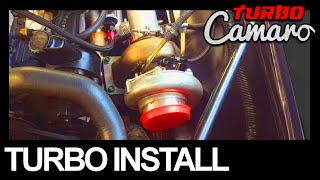 1967 Turbo Camaro - Chevy 250 Inline 6 - Turbocharger Install
