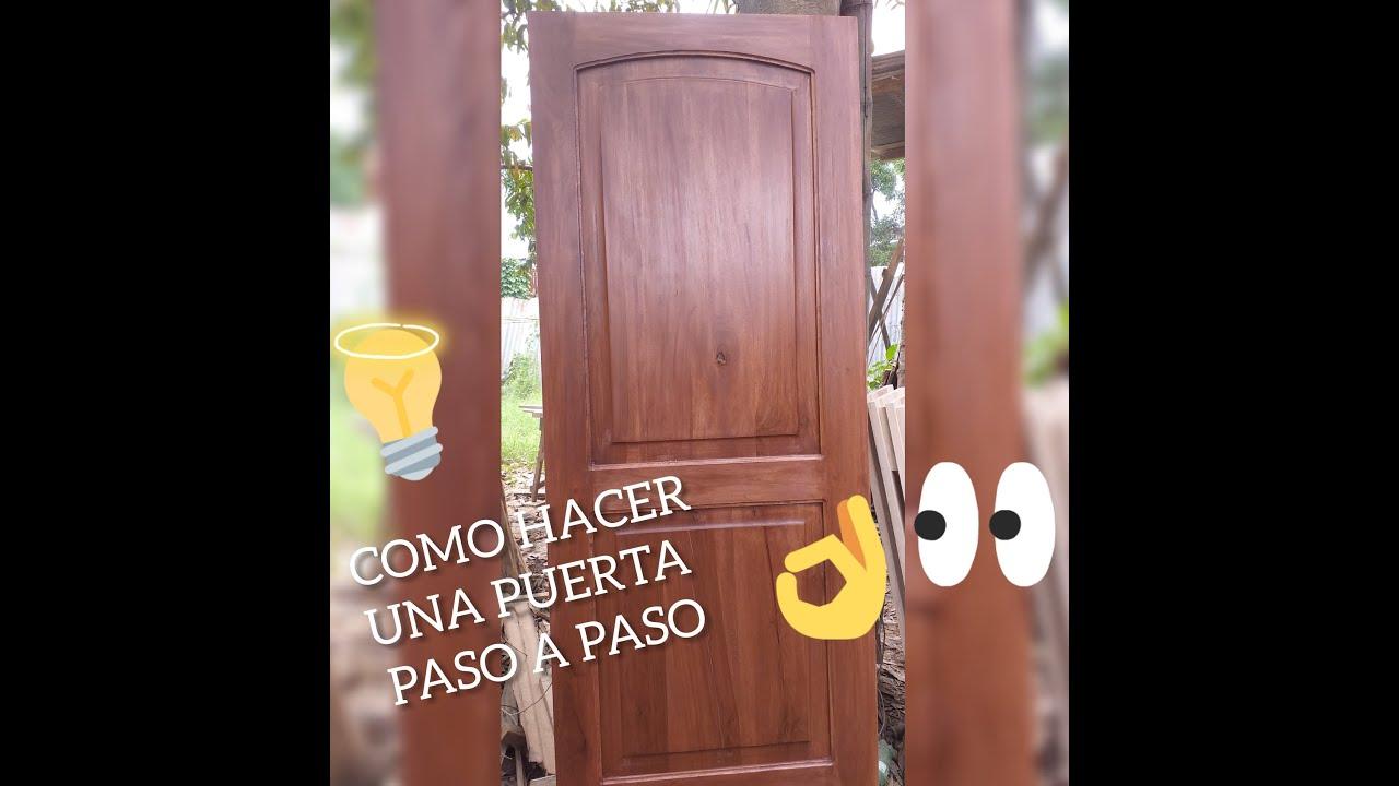Como hacer una puerta de madera paso a paso cap 1 youtube for Como hacer una puerta de madera paso a paso