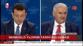 Ekrem İmamoğlu ve Binali Yıldırım'a HDP ve Selahattin Demirtaş sorusu