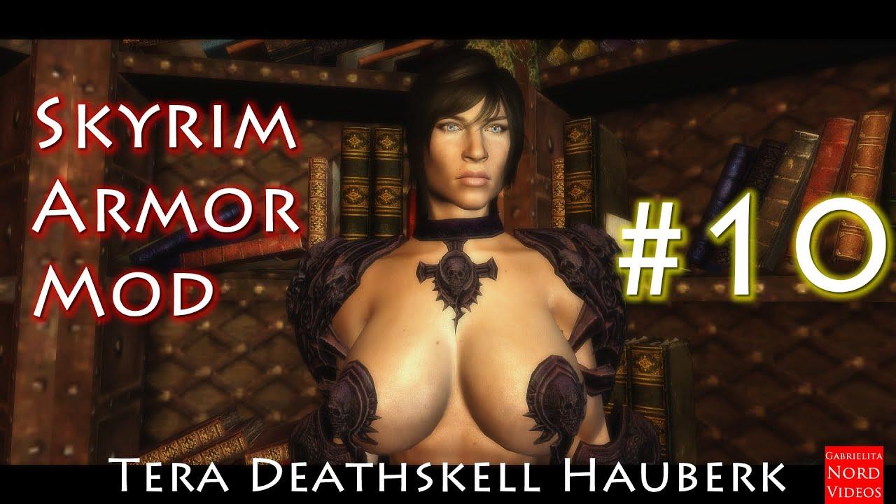 Skyrim |Tera Deathshell Hauberk CBBE BodySlide Número 10 [Review]